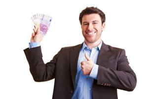 Manager gewinnt viel Geld